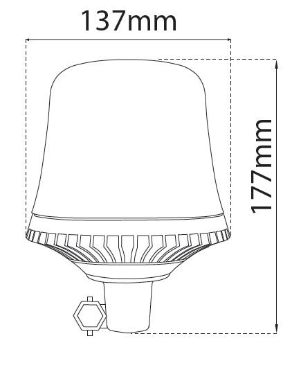LAP LED R65 Beacons (LRB Range)