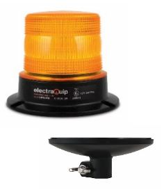 LED Autolamp R65 Warning Beacons with Alloy Base