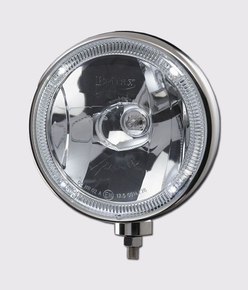 """Britax 8"""" halogen/LED stainless driving lamp L28"""