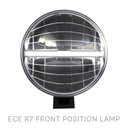 "LED Autolamps 9"" Round LED Driving Lamp"