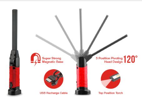 HH340 Rechargeable Workshop Inspection Wand
