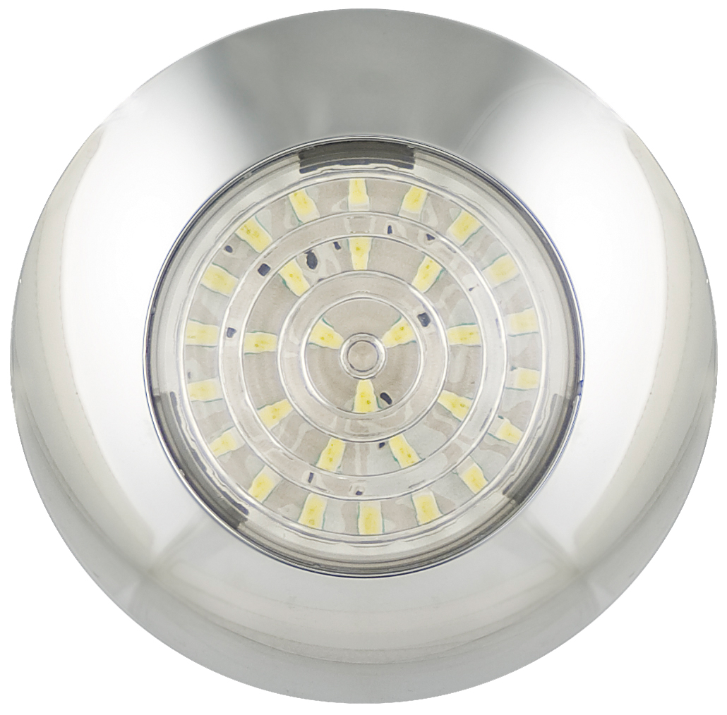 LED Autolamps Round Interior Lamps 75mm 7524 &7530 Series