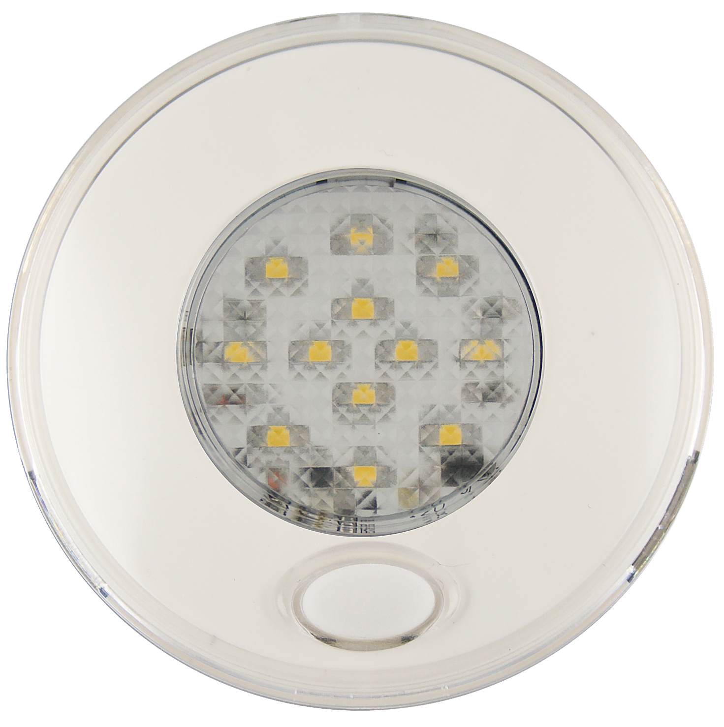 LED Autolamps Round Interior Lamps 79mm with Switch