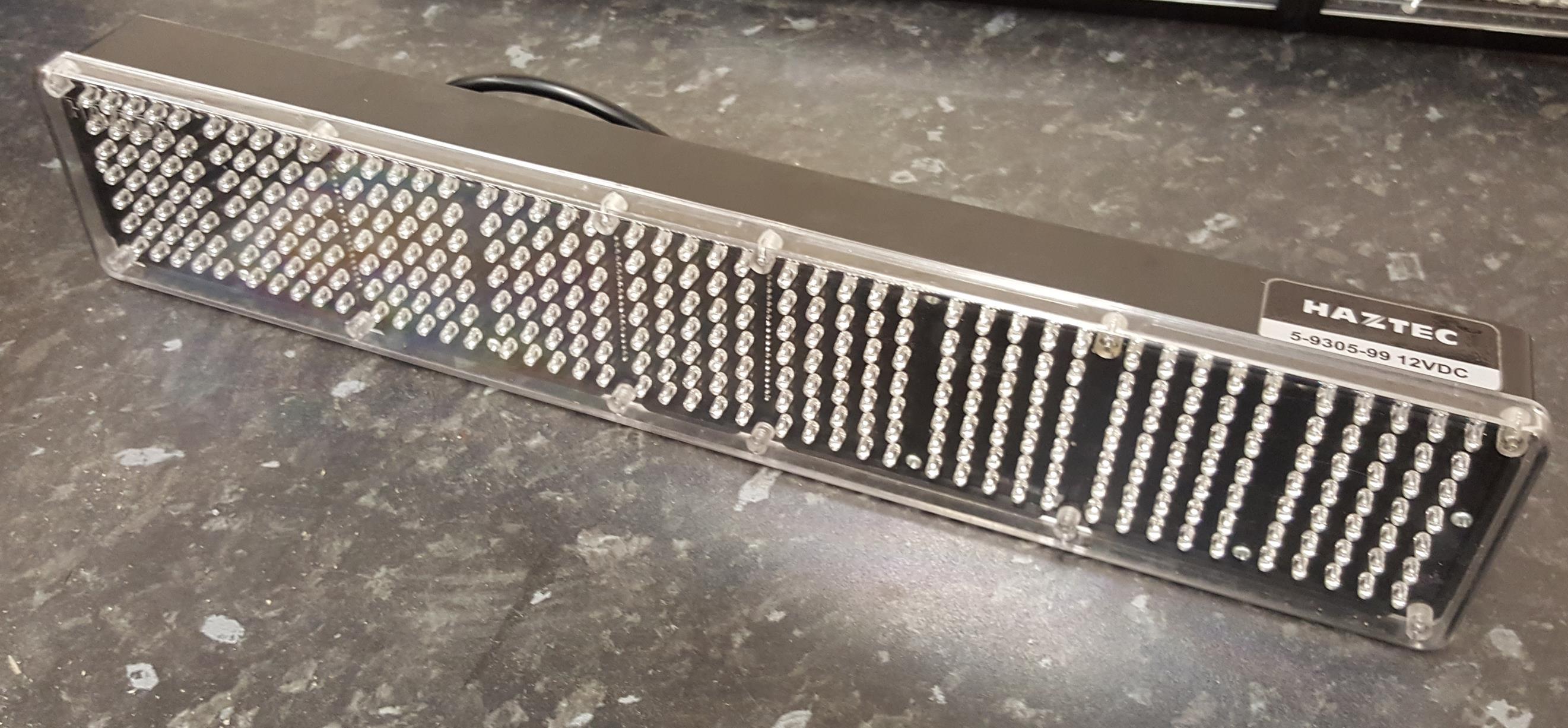 Haztec 464mm LED message display