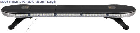 LAP Eclipse LED Lightbars