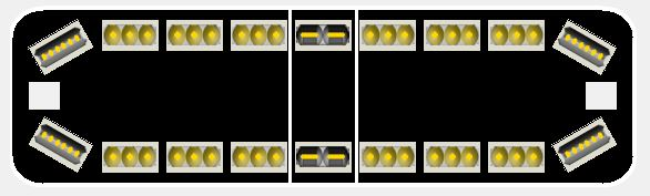 Whelen Justice Competitor series LED lightbar