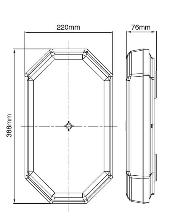 RING TruckMaster LED E Approved Light Bars 12/24 V