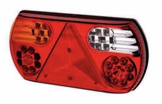 LAP CV105-6 square rear lamps