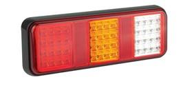 LED Autolamps 283WARM Triple Combination Lamp (w/ Reverse)