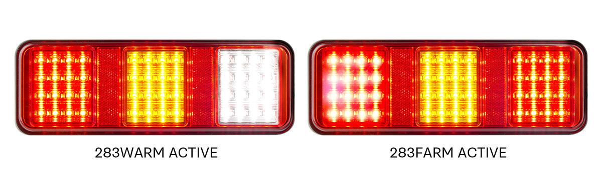 LED Autolamps 283 series Triple Combination Lamp