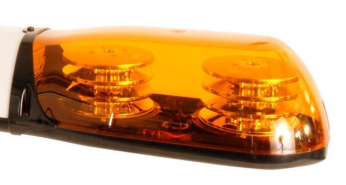 Britax 4 module lightbar lens