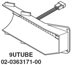Whelen Edge 9M Ultra corner strobe tube (9UTUBE)