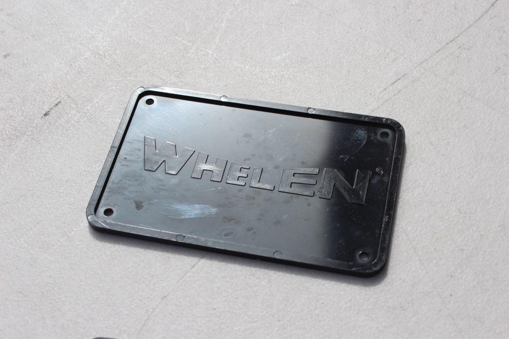 Whelen Edge/Freedom blank plate