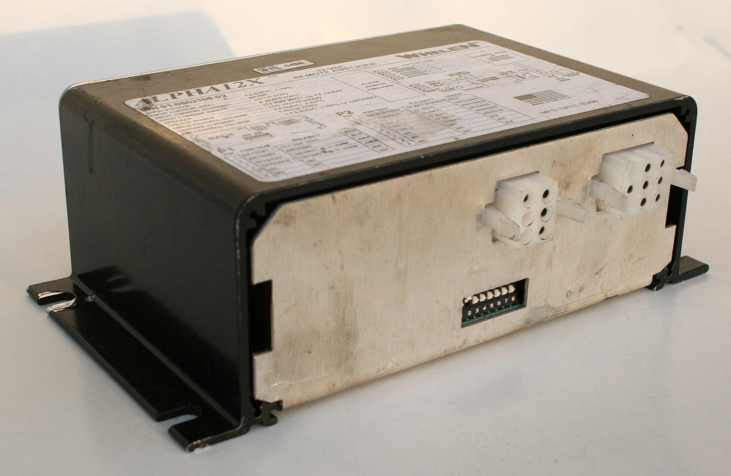 Whelen Alpha 12X Siren Amplifier