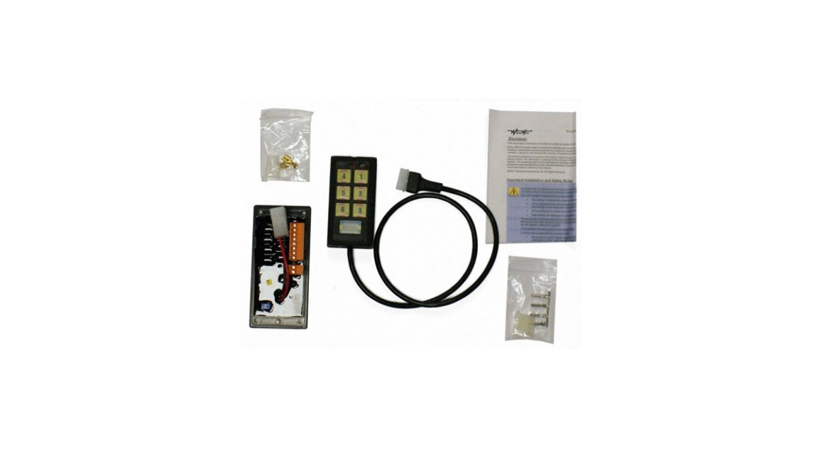 Woodway Microlink switch control panel