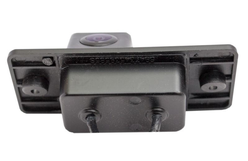 PORSCHE CAYENNE Number Plate Reverse Camera