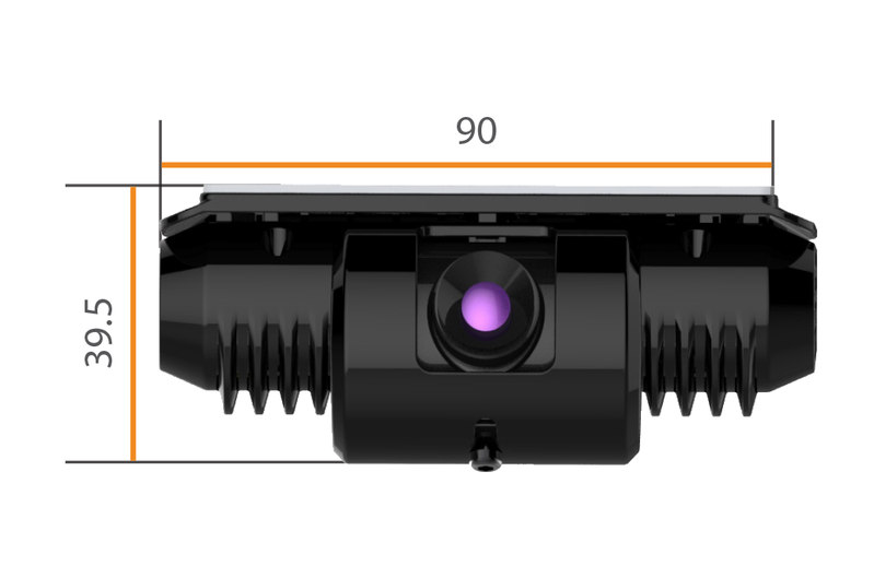 Motormax Forward Facing Recording Camera