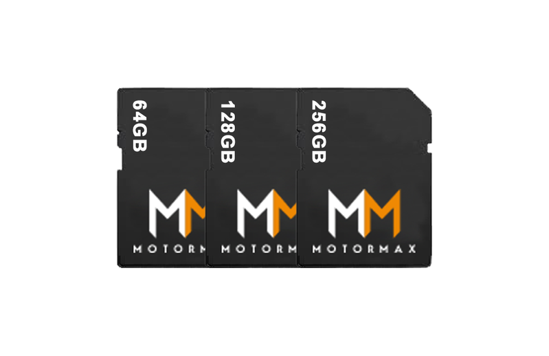 Motormax SD Cards for 'Forward Facing Camera' MMD1CH/LV