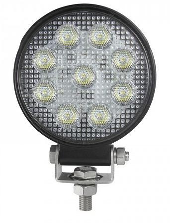 LED Autolamps IP69k High-Power Round Flood lamp