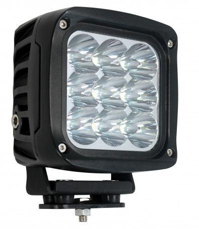 LED Autolamps Heavy-Duty Square Flood Lamp 9 X 5W LEDs