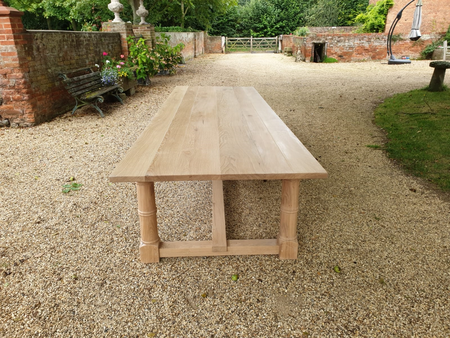 Solid Oak Refectory table