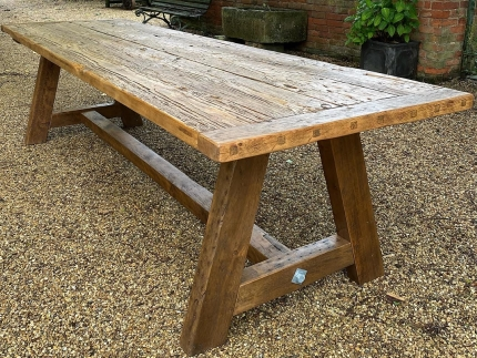 19th Century Period Timber Dining Table