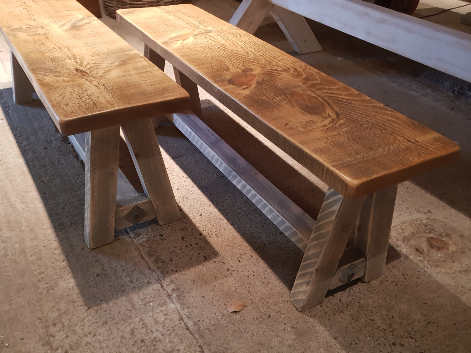 Beautiful, Solid Wood Benches Made to Order