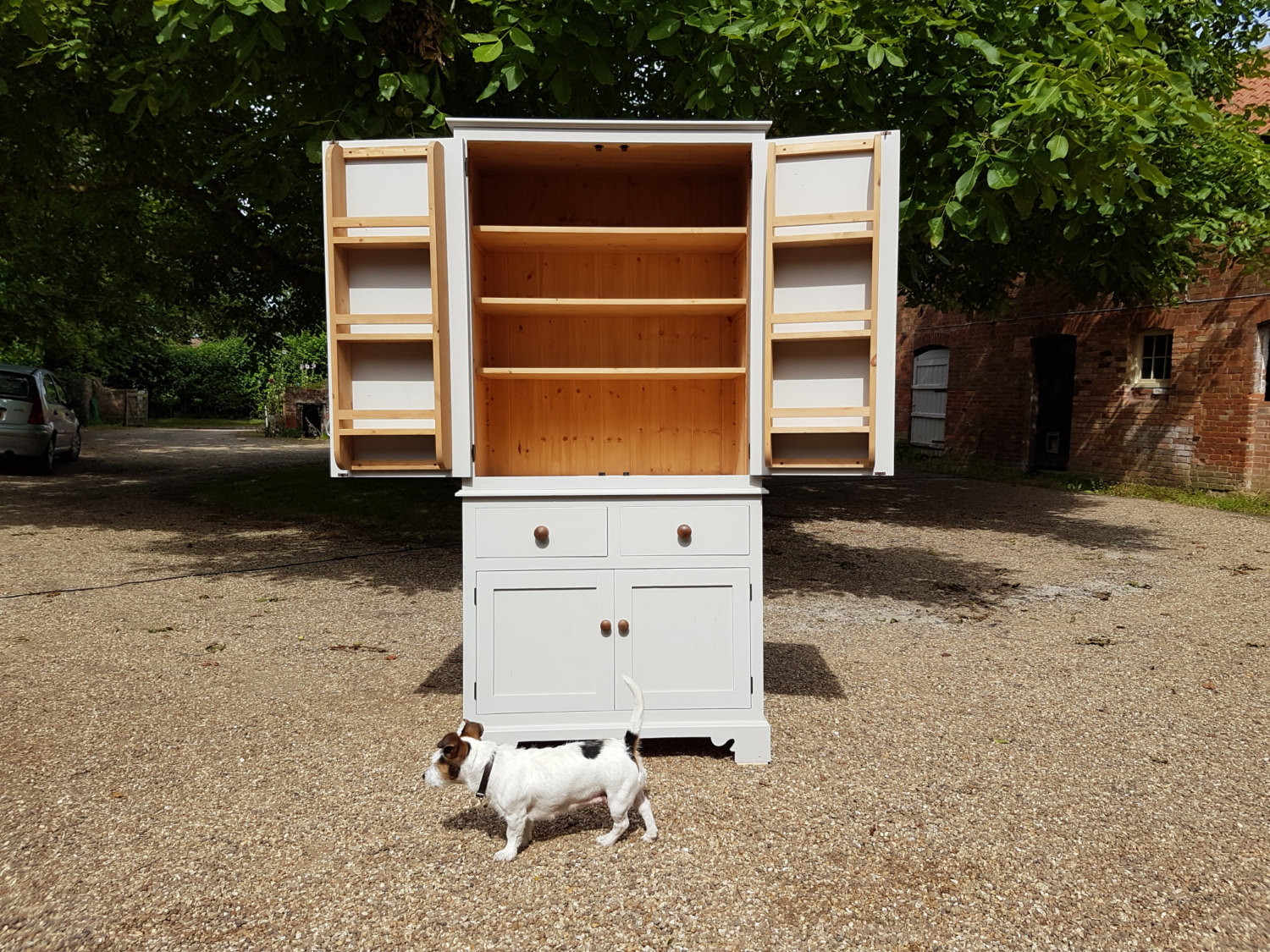 Bespoke Larder Cupboard - made to order, any size & colour