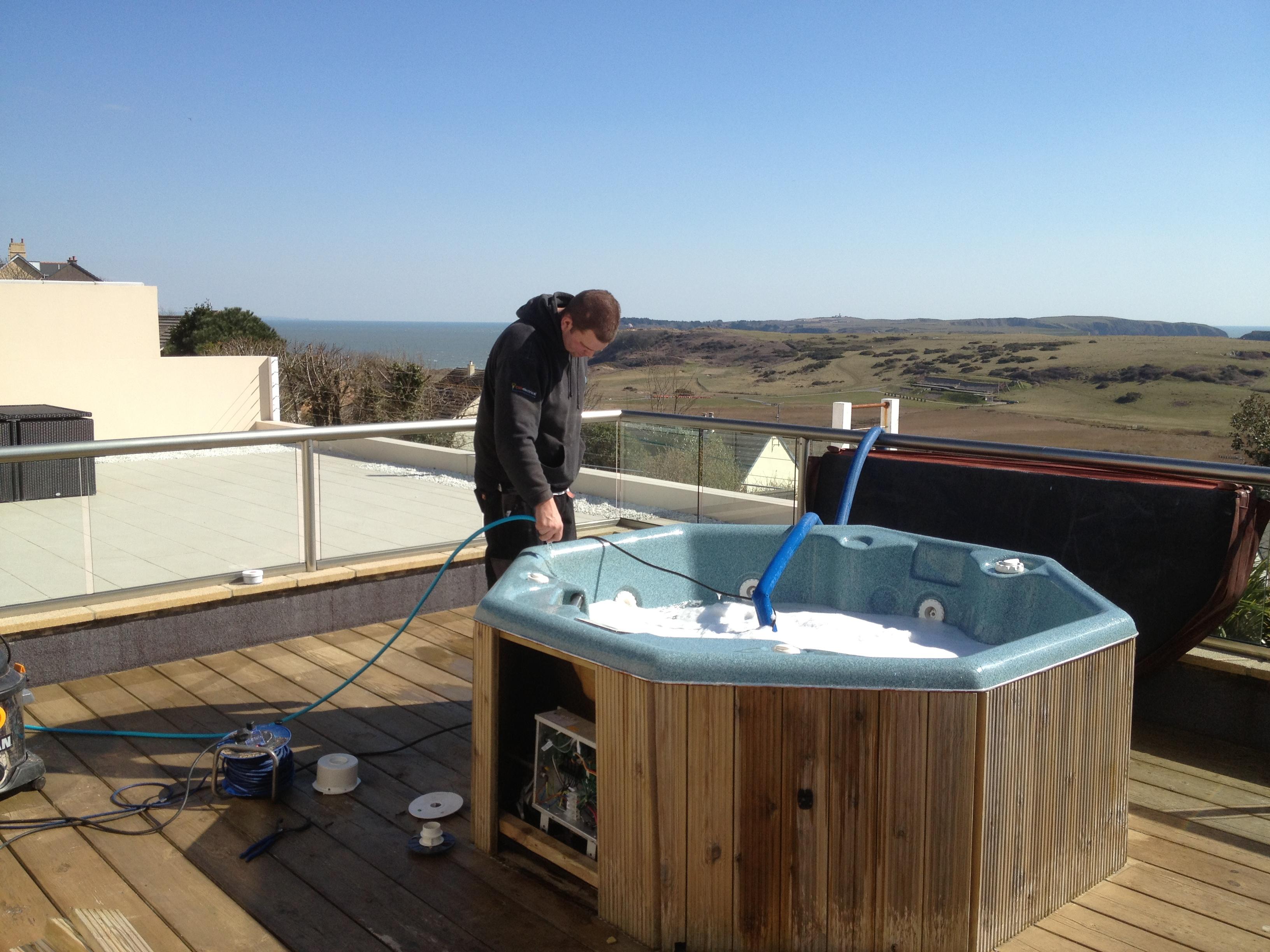 Hot Tub Servicing