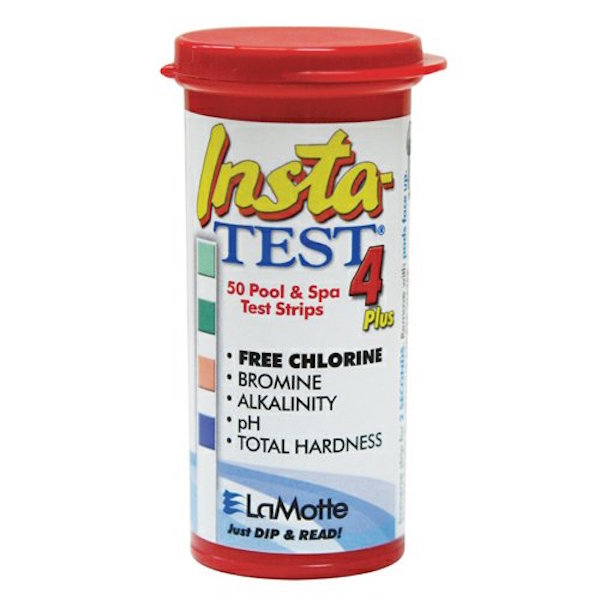 LaMotte 4 way Test Strips for Hot Tubs - Pack of 50