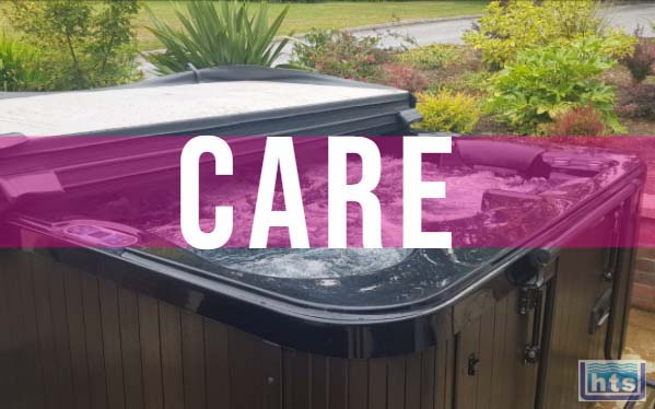 Clean Inside & Outside Of Spa Cover