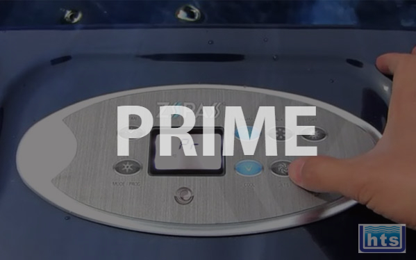 Prime All Pumps of Air