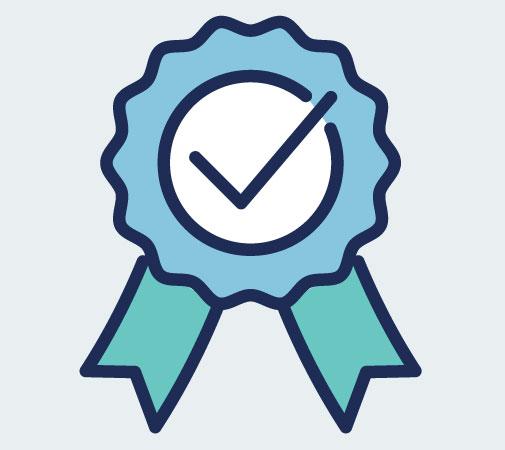 Accreditation icon