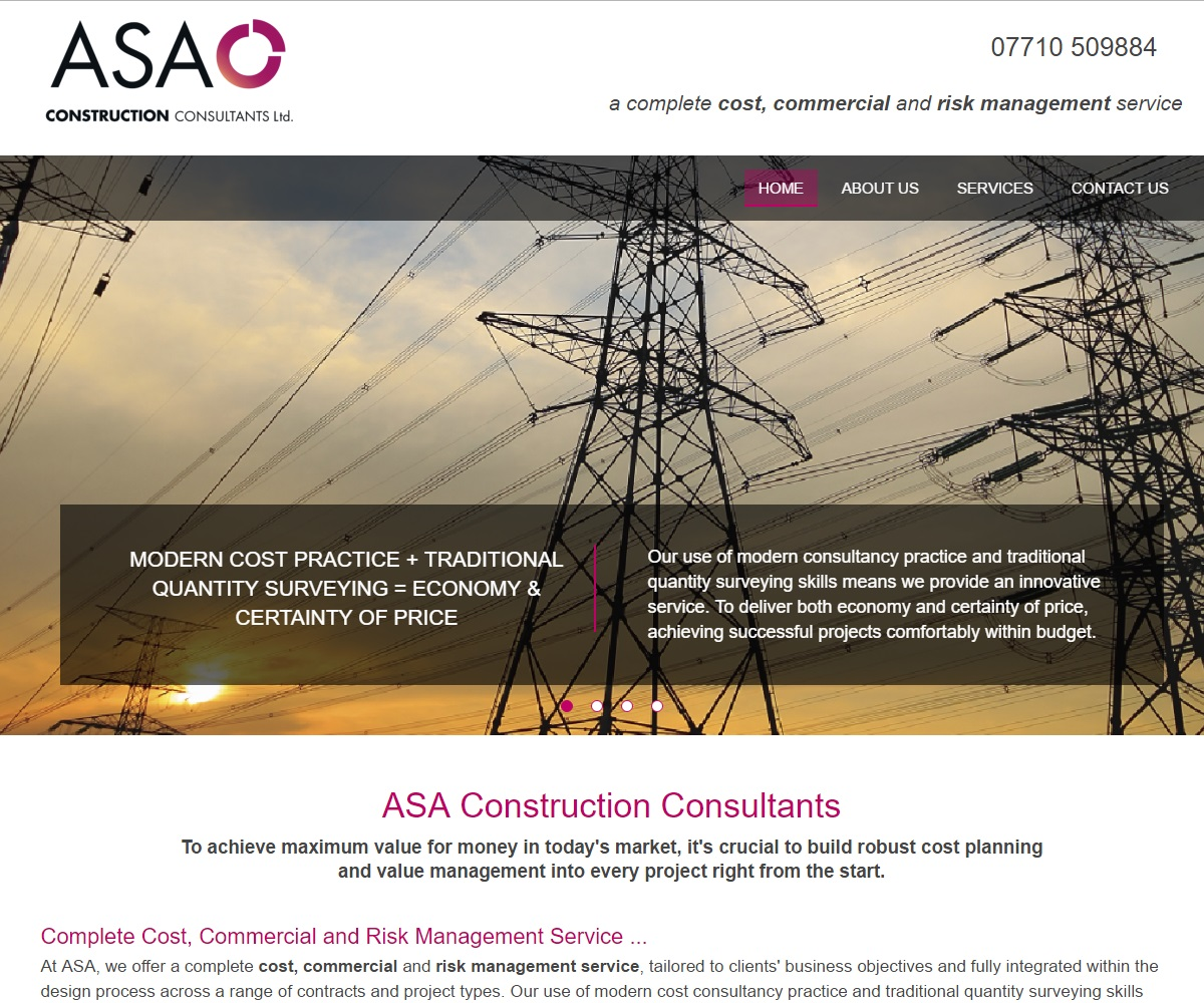 Web Design | ASAConstruction