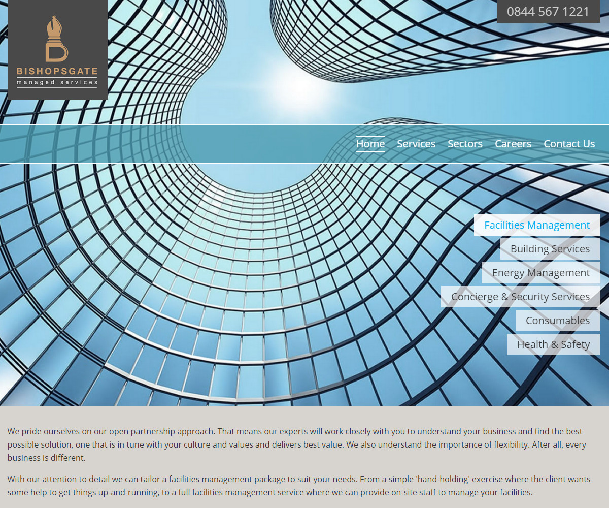 Web Design | BishopsgateServices