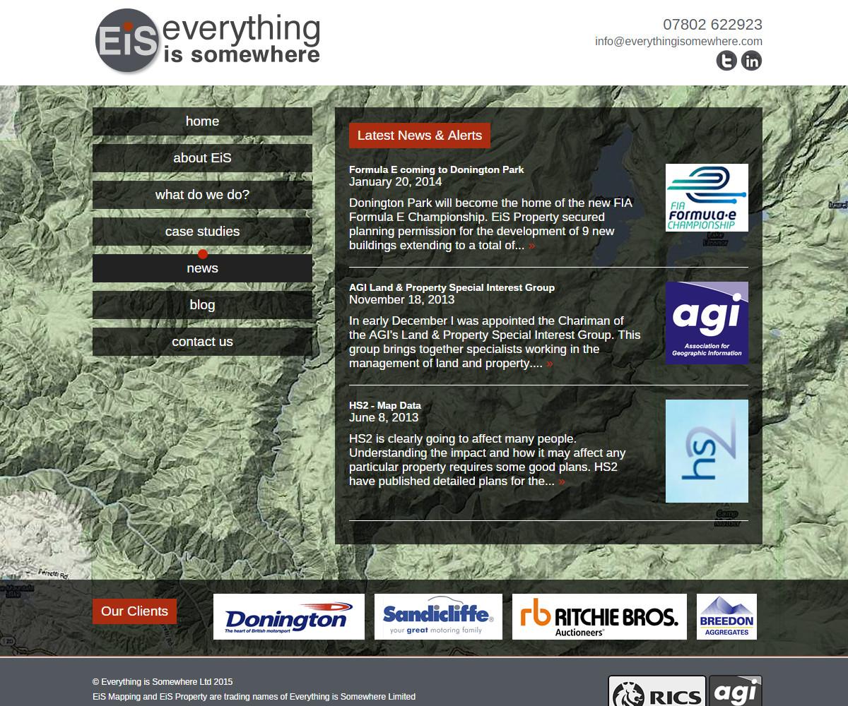 Web Design | EverythingIsSomewhere