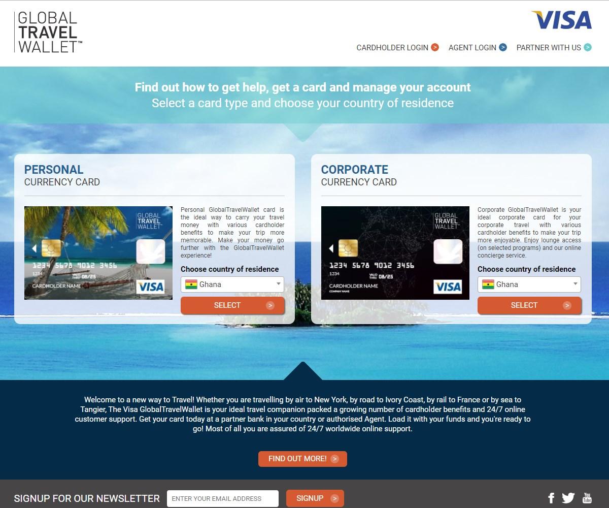 Web Design | GlobalTravelWallet