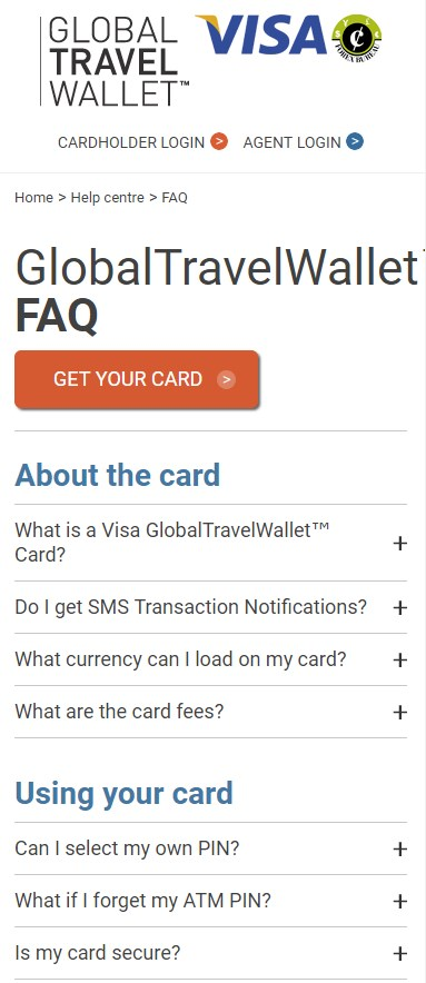 GlobalTravelWallet