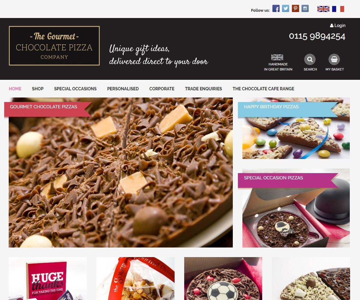 Web Design | GourmetChocolatePizza