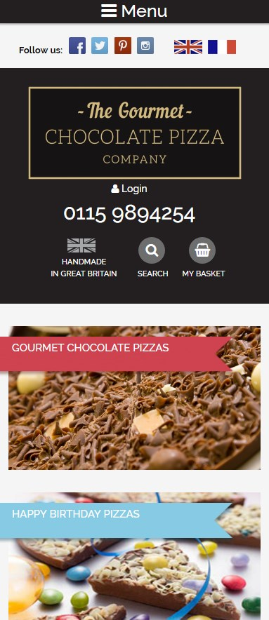 GourmetChocolatePizza