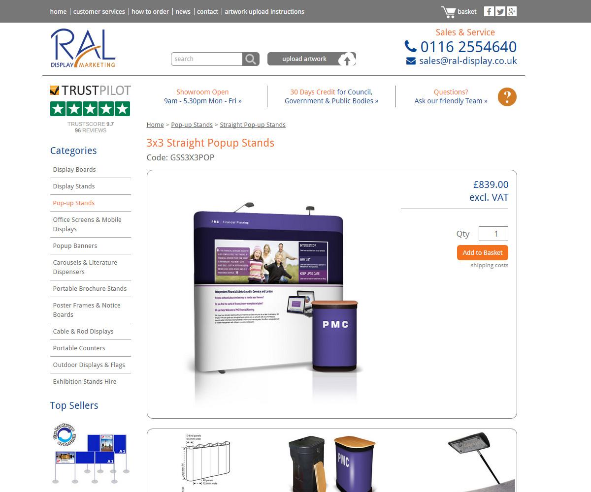 Web Design | RALDisplay