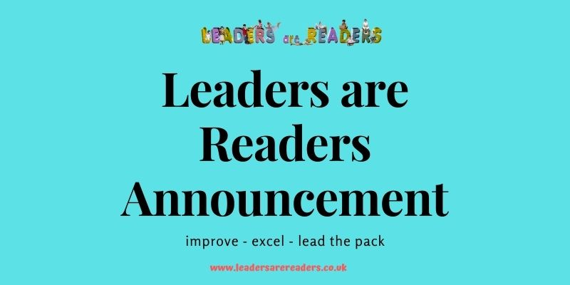 Leaders are Readers Dartford, Essex and Southgate Centres