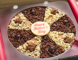 Father's Day Chocolate Pizza