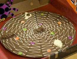 Halloween Chocolate Pizza