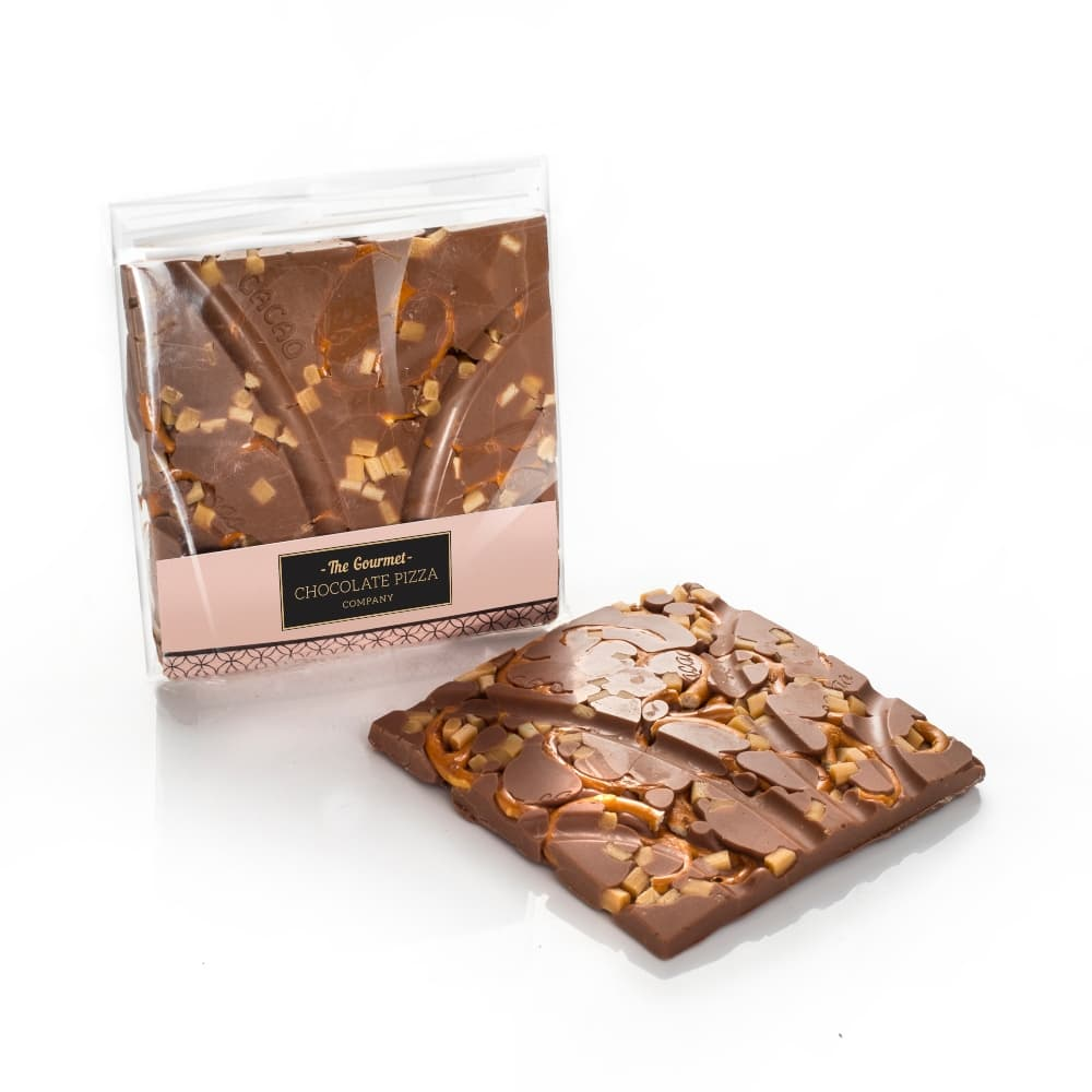 Smooth Vanilla Fudge and Salted Pretzels are combined into our delicious milk chocolate for this one.