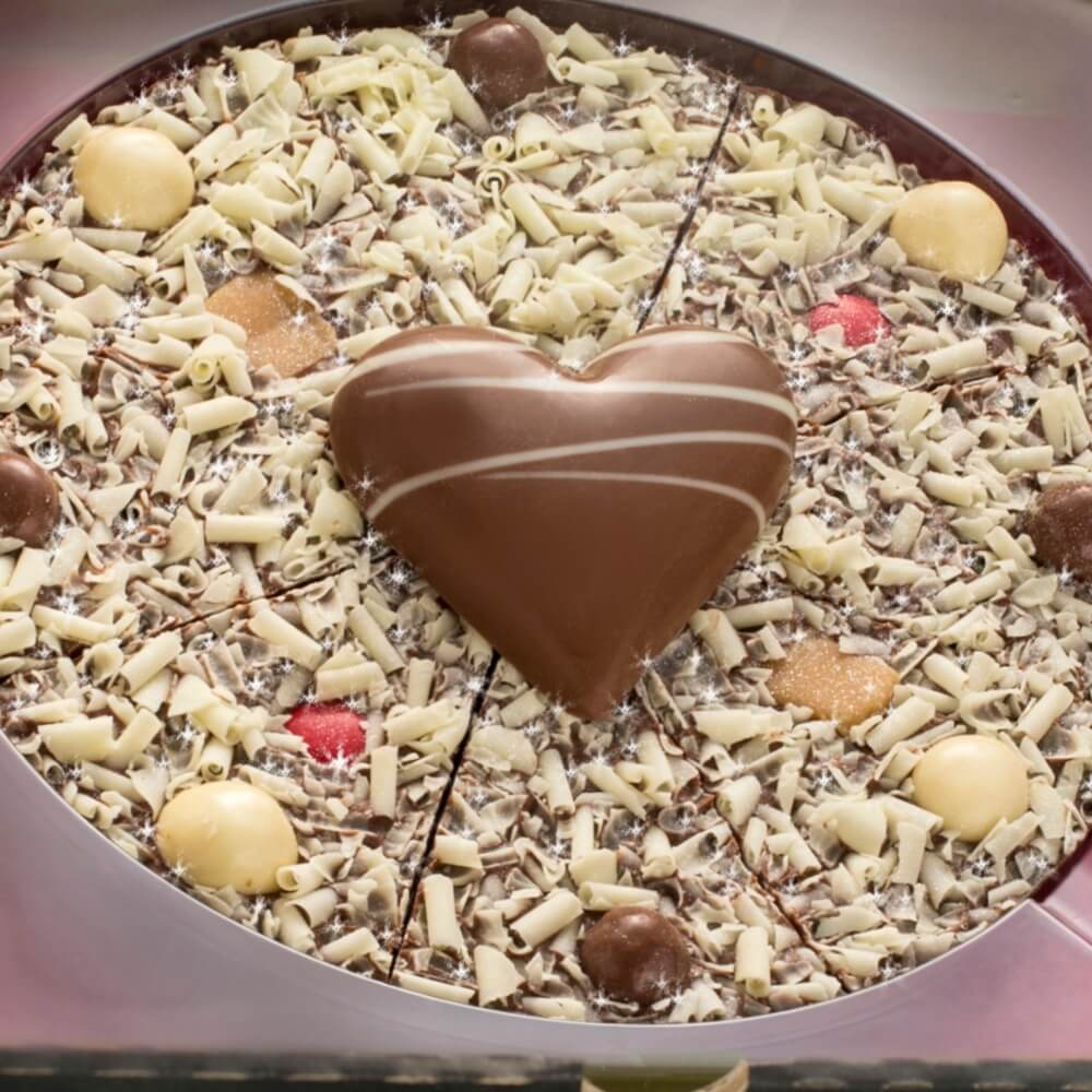 Our 7 inch Love Chocolate Pizza for 2020