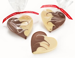 Milk & White Chocolate Hearts