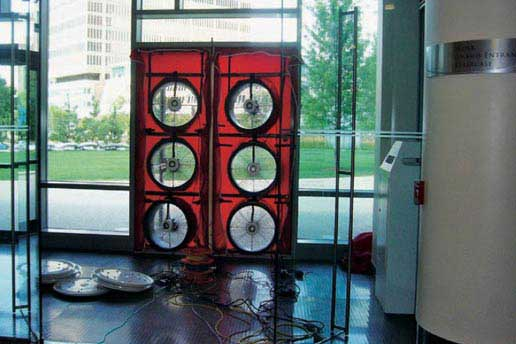Air Tightness Tests for commercial buildings