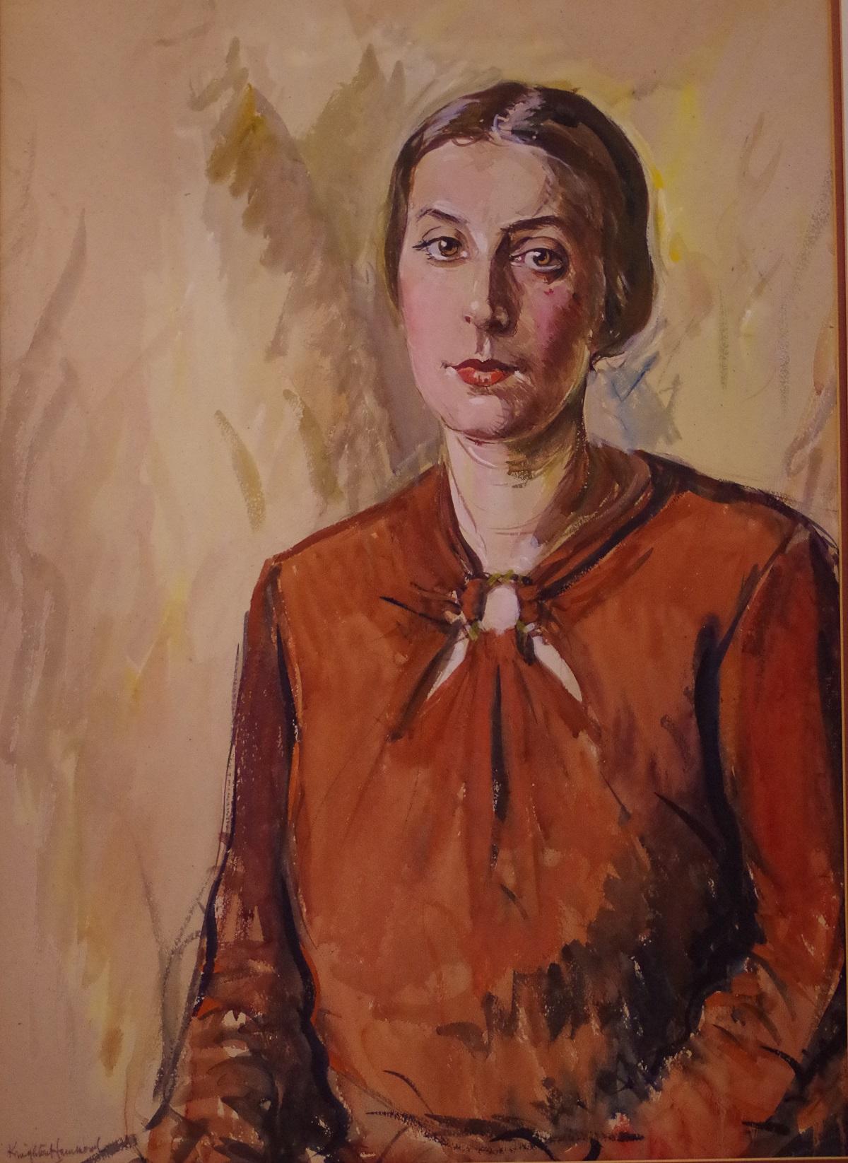 Portrait of Emmeline Hammond