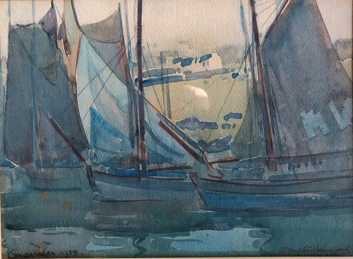 Sailing Boats at Concarneau